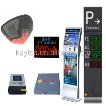 Low cost vehicle tracking system with video detector and parking guidance