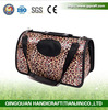 BSCI QQ Pebed Factory Fashion Pet Dog Carrier PU Leather Dog Carriers Luxury Cat Travel Carrying Handbag