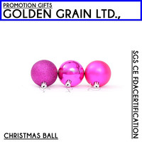 Wholesale shatterproof plastic cheap christmas ornaments ball