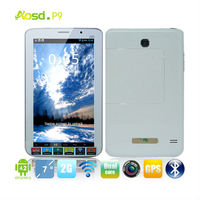 china mobile android 7 inch tablet with removable battery mtk6572 512mb ram 2g phone 7inch tablet pc P9