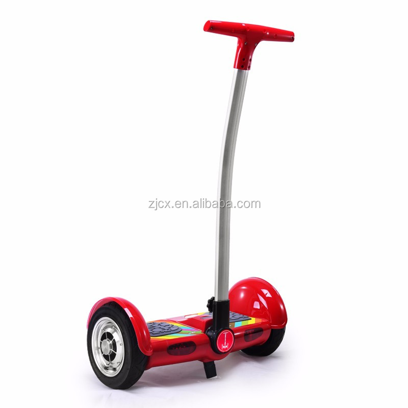 2016 High quality and Low price 10 inch electric scooter with handle and LED light