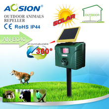 Aosion Guard Pest away Ultrasonic Outdoor Pest Repeller with Motion Sensor