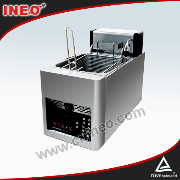 8L Electric Auto Lift-up Potato Fryer/Built In Deep Fryer/Fryers For Chips