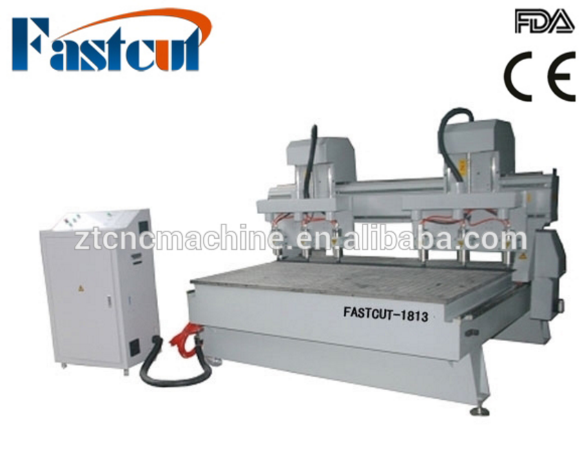 FASTCUT-1813 table moving dust collector handwheel cnc center