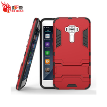 Mobile phone kickstand shockproof smart phone cover case for asus ZE552KL