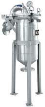 High quality stainless steel multi and single ss liquid bag filter