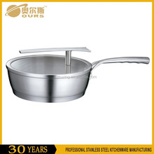 Fashion design hot-sell happy call double sided frying pan