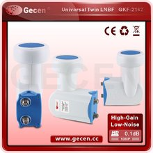 High gain good price new design universal ku band twin lnb
