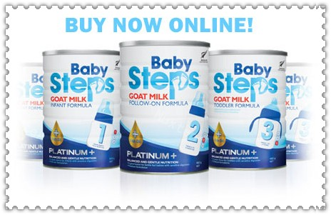new zealand milk powder_baby steps Goat Milk Follow-On Formula 900g