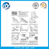 High quality paper product specification manual , operating instructions manual , product specifications printing