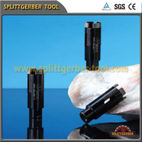 High efficient diamond core bit for granite & marble drill