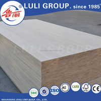 E0 glue red pine finger joint board/ solid wood