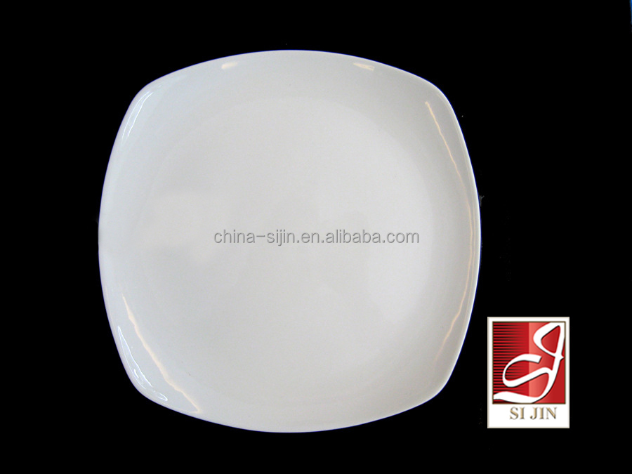 Special design wholesale white ceramic tableware for hotel restaurant wedding use