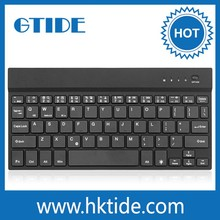 Ultra-thin 9.7 tablet pc leather case bluetooth keyboard