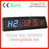 aliexpress 1.8 inch 6 digits indoor led seconds countup timer