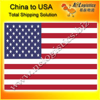 agency services from China to USA