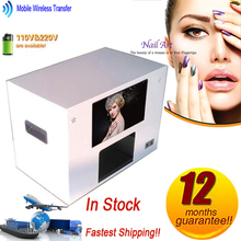 CE Professional flower rose photo printing machine digital art nail printer for sale