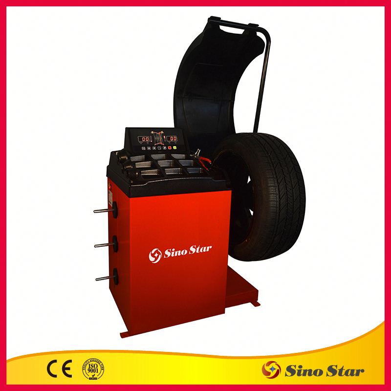 Truck wheel balancer / car repair machine / used tire balancer for sale by Sino Star