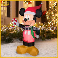 Giant outdoor christmas inflatable micky mouse cartoon character