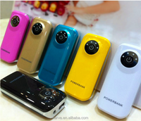 2016 New arrival 5600mAh fish eyes smart phones power bank for travel tourism