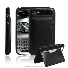 Factory Wholesale Wallet Flip Leather cover For Blackberry Classic Q20