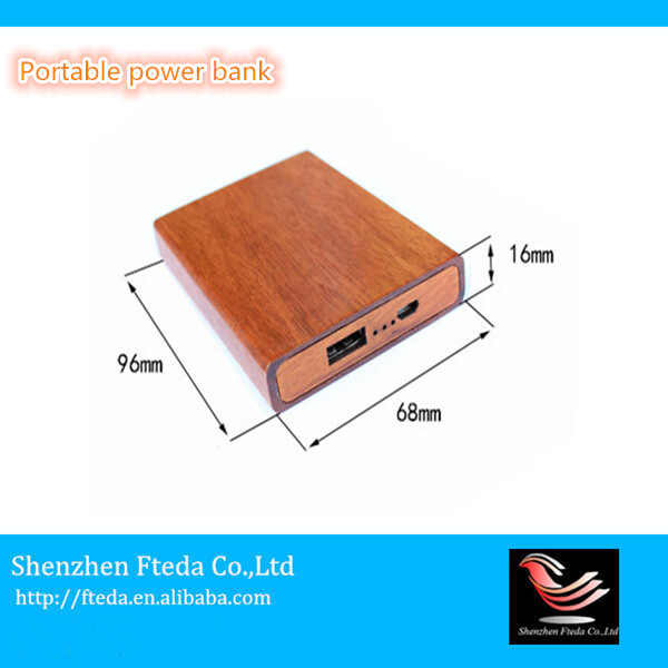 Cheap good quality handmade craft usb power bank for huawei