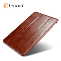 ICARER Vintage Real Leather Stand Case for iPad pro 9.7 inch