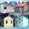 beautiful design and low cost steel structure prefab house and modular house and villa