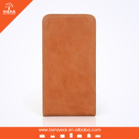 Latest product Genuine Cow Leather flip phone cases fit for Samsung S5