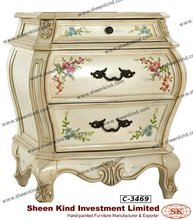 Bombe Chest / Bombay Cabinet in Heirloom French Style