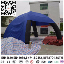 Portable Inflatable air Spider Tent dome tent with 4 legs for trade event party