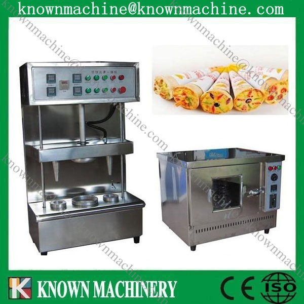 Hot sale New design automic small pizza cone production line,cone pizza production line