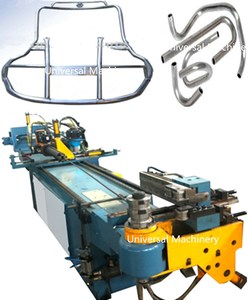 full automatic CNC Pipe Bender Rolling Machine with rolling and pushing bending function