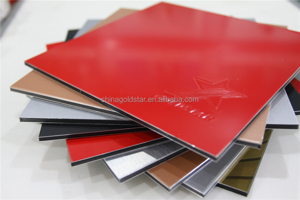 Goldstar alucobond panel design acp sheet price