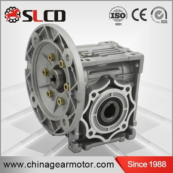 Wj (RV)series worm hollow shaft gear motor