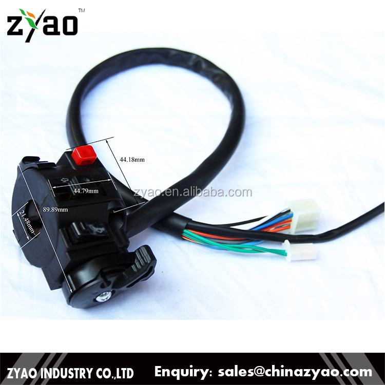 ATV/Quad spare parts:50CC 110CC ATV Dirt Bike Scooter Handlebar Starter Switch Function Switch