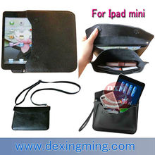 Lady shoulder bag case for Ipad mini 7.9 inch