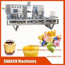 Plastic Cup Fill Seal Machine Cup Filling Machine for Sale