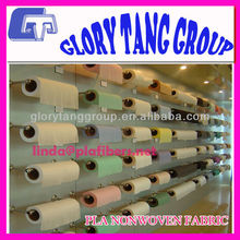skin-care and soft pla spunlace nonwoven fabric for hygiene products
