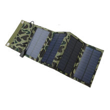 High Quality 7W Camouflage Solar Charging Portable For Mobile Phone