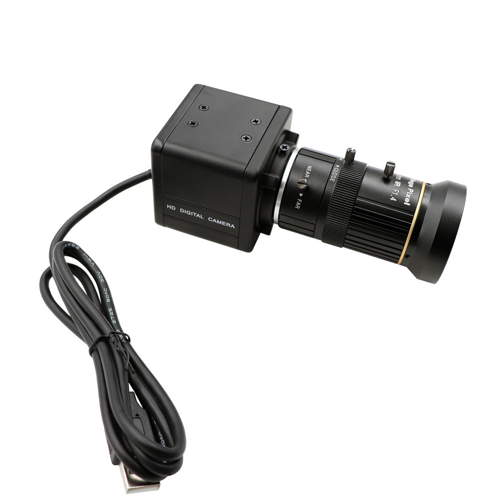 CS 5-50mm Varifocal High Speed 60fps 1920X1080p 120fps <strong>1280</strong> <strong>x</strong> 720p 330fps Webcam UVC High Fram Rate USB Camera with Mini Case