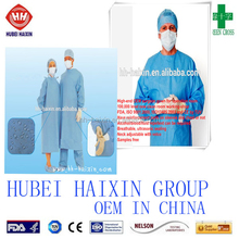 High quality Sterile Disposable M, L, XL,XXL Surgical Gown