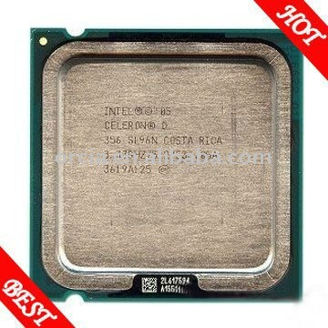 Intel celeron d processor 356 3.33GHz 533MHz 512KB 775pin 65nm