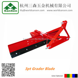 tractor mounted rear grader blade /snow blader, heavy duty land leveller