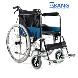Cheap Price lightweight Standing Folding Remote Used Manual Wheelchair for Sale