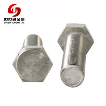 Custom Best Quality Stainless Steel Hex Head Cap Bolt Raw Material Of Bolt