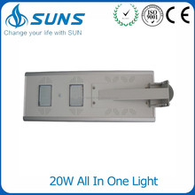 Intergerated Outdoor Ip65 12v 20w High Power 20w Outside Stone Powerful Fixture Led Solar Garden Light For Garden