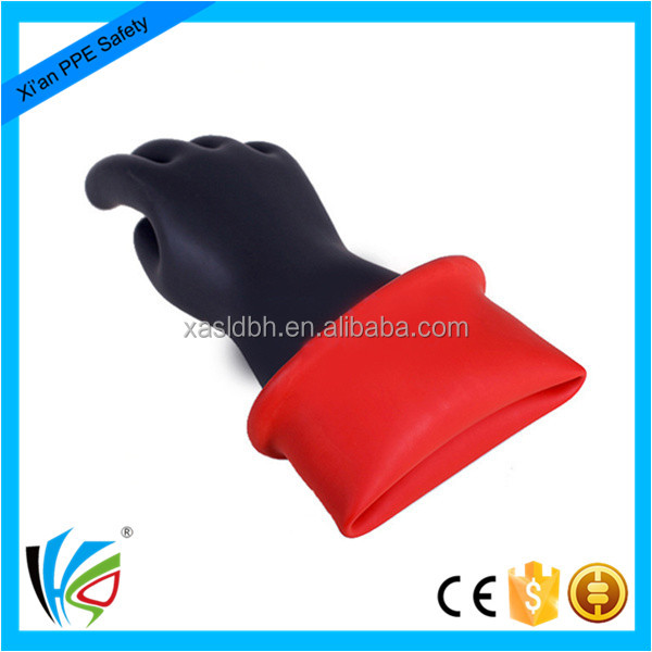 China Manufacturer Safety Protection Electric Insulated Work Gloves