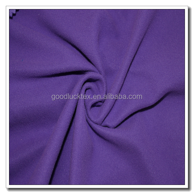 wholesale China textile manufacturer finely processed dyed super poly fabric