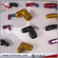 Industry Rubber ce double thread nipple pipe fittings crimping